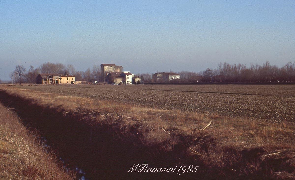 Una fotografia storica, l'are del progetto Oasi Torrile. Ripresa effettuata dalla parte delle vasche Eridania