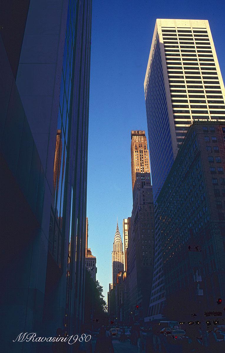 New York, la Quinta strada al tramonto